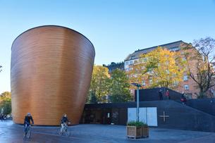 木で作られたカンピ・チャペル礼拝堂の写真素材 [FYI02648785]