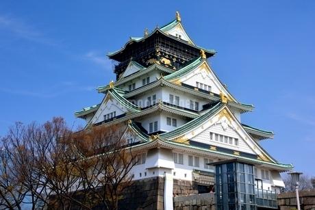 大阪城天守閣の写真素材 [FYI02648927]