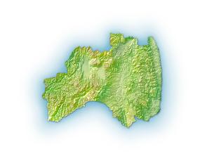 福島県地図のイラスト素材 [FYI02649131]