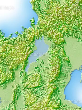 滋賀県地図のイラスト素材 [FYI02649154]