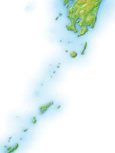 鹿児島県全島地図のイラスト素材 [FYI02649263]