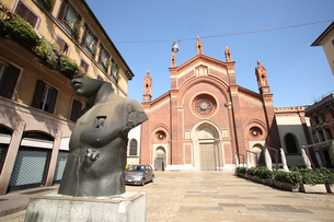 サンタ・マリアデルカルミネ教会の写真素材 [FYI02649312]