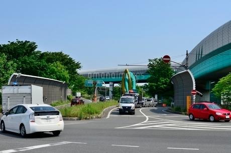 関越自動車道外環自動車道大泉インターの写真素材 [FYI02649978]