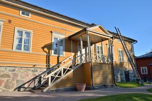 フィンランド国歌を作詞したルーネベリの邸宅の写真素材 [FYI02650020]