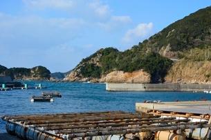 和歌山,衣奈漁港の写真素材 [FYI02650058]