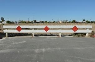 道路の行き止まりの写真素材 [FYI02650120]