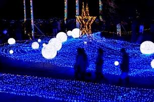 るり渓温泉,京都イルミエ-ル,天空の森の写真素材 [FYI02650724]