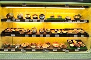 韓国料理のメニューサンプルの写真素材 [FYI02650971]