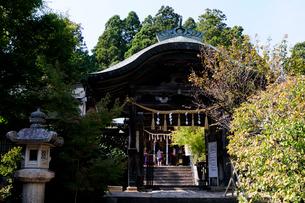 常宮神社本殿の風景の写真素材 [FYI02651323]