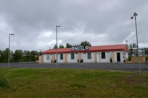 アイスランドのモーテルの写真素材 [FYI02651492]
