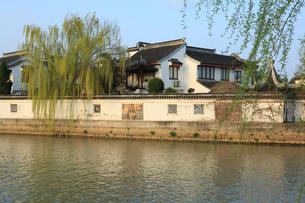 蘇州 水郷(運河)の写真素材 [FYI02651689]