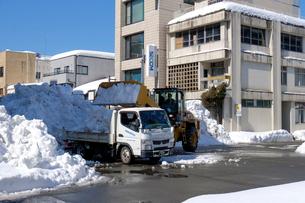 除雪風景の写真素材 [FYI02651916]