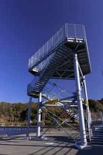 津波避難タワーの写真素材 [FYI02652089]