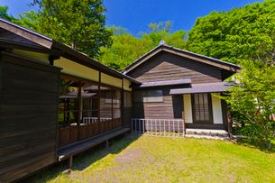 堀辰雄文学記念館にある旧宅の写真素材 [FYI02652097]