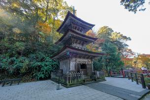 那谷寺三重塔の写真素材 [FYI02652146]
