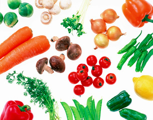 野菜パターンの写真素材 [FYI02652224]