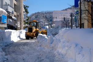 除雪風景の写真素材 [FYI02652238]