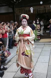 安井金毘羅宮櫛祭りの写真素材 [FYI02652453]