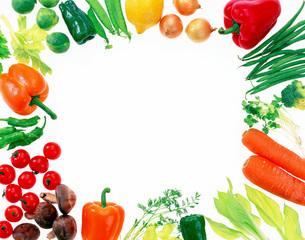野菜パターンの写真素材 [FYI02652716]