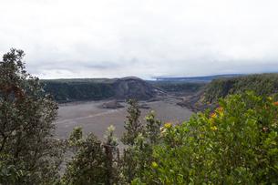 ハワイ島 キラウエアイキ展望台からの眺望の写真素材 [FYI02652739]