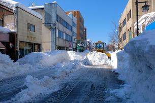 除雪風景の写真素材 [FYI02652854]