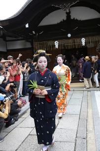 安井金毘羅宮櫛祭りの写真素材 [FYI02652876]