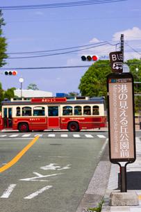 バス停の写真素材 [FYI02652968]