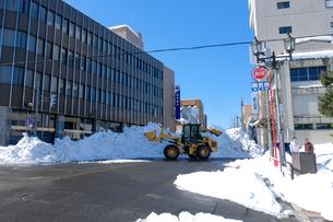 除雪風景の写真素材 [FYI02653141]