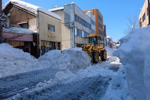 除雪風景の写真素材 [FYI02653144]