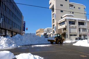 除雪風景の写真素材 [FYI02653190]