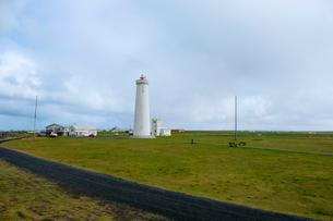 ガールスカギ灯台の写真素材 [FYI02653307]