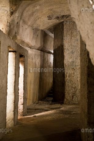 ナポリの地下古代都市の写真素材 [FYI02653452]