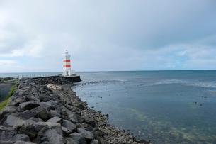 ガールスカギ灯台の写真素材 [FYI02653674]