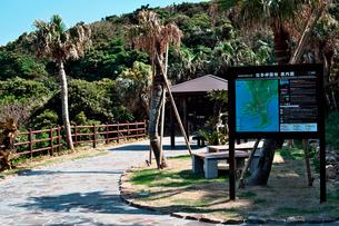 佐多岬園地案内図の写真素材 [FYI02653829]