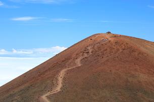 ハワイ島のマウナケア山頂の写真素材 [FYI02653839]