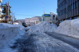 除雪風景の写真素材 [FYI02653983]