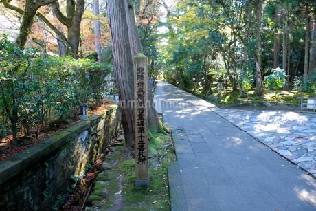 那谷寺参道の写真素材 [FYI02654056]