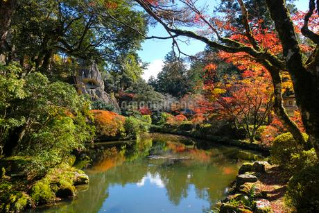 那谷寺の庭園の写真素材 [FYI02654123]
