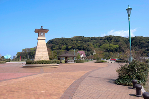 金ヶ崎緑地公園の写真素材 [FYI02654143]