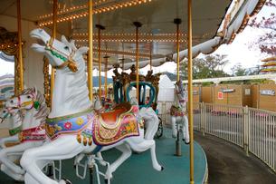 回転木馬の写真素材 [FYI02654177]