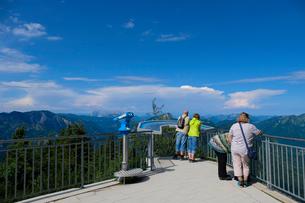 ラウシュベルク山からの眺めの写真素材 [FYI02654404]