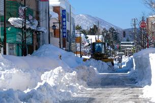 除雪風景の写真素材 [FYI02654409]