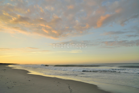 朝の海岸の写真素材 [FYI02654712]