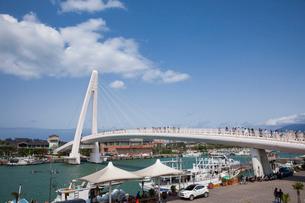 漁人碼頭の情人橋の写真素材 [FYI02654952]