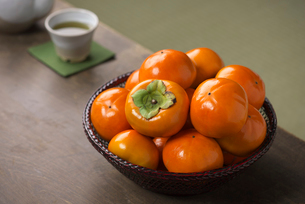 西村早生柿の写真素材 [FYI02655081]
