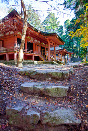 比叡山延暦寺西塔のにない堂の写真素材 [FYI02655218]
