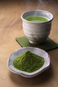 粉末緑茶の写真素材 [FYI02655240]
