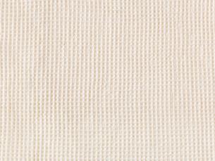 ベージュのワッフル織りの布の写真素材 [FYI02655326]