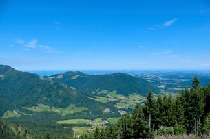 ラウシュベルク山からの眺めの写真素材 [FYI02655685]
