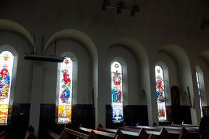 アークレイリ教会ステンドグラスの写真素材 [FYI02655687]